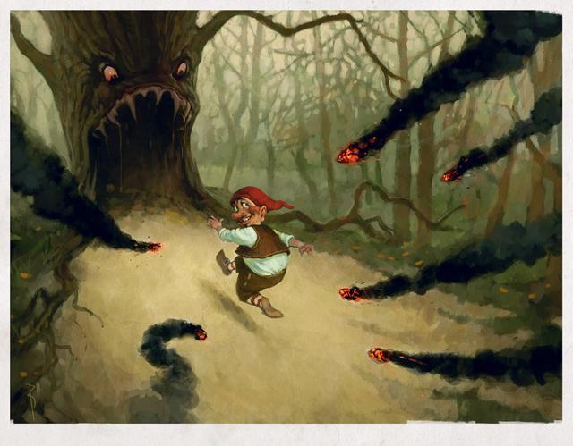 run_dwarf_run_by_waldemar_kazak-d37mgl9