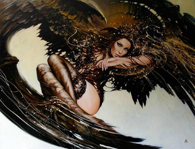 CAUSA,-2011,cykl_Fashion_-Oil-on-canvas,-100x130-cm263