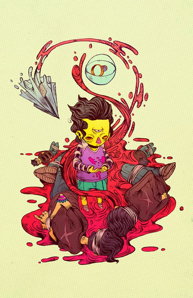 Colourful and dynamic illustrations from Chihuahua, Mexico based illustrator Raul Urias _03