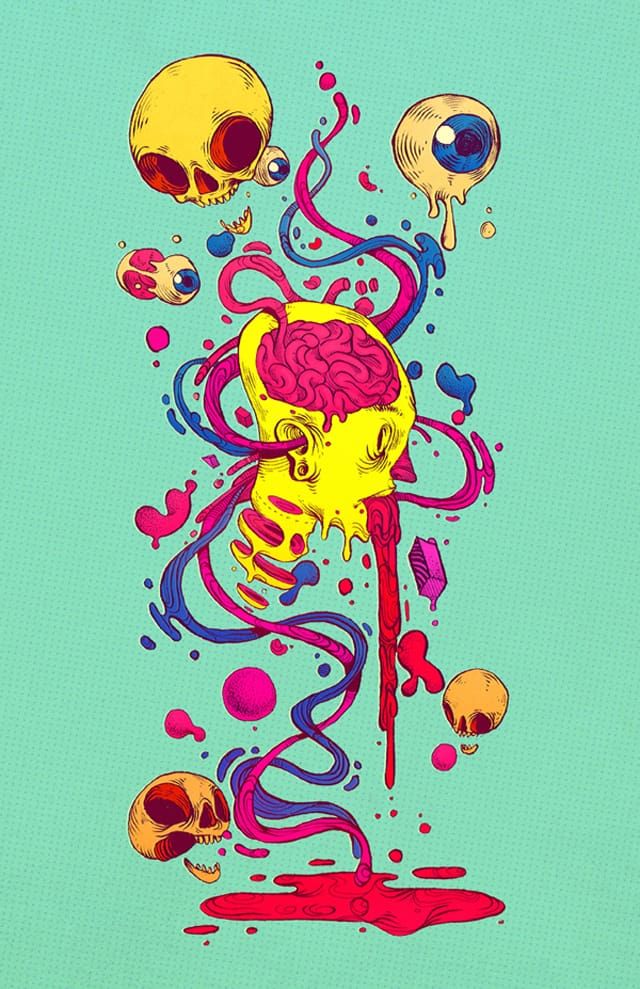 Colourful and dynamic illustrations from Chihuahua, Mexico based illustrator Raul Urias _05