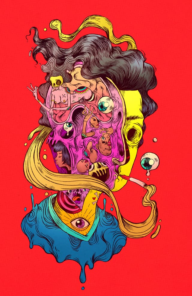 Colourful and dynamic illustrations from Chihuahua, Mexico based illustrator Raul Urias _07