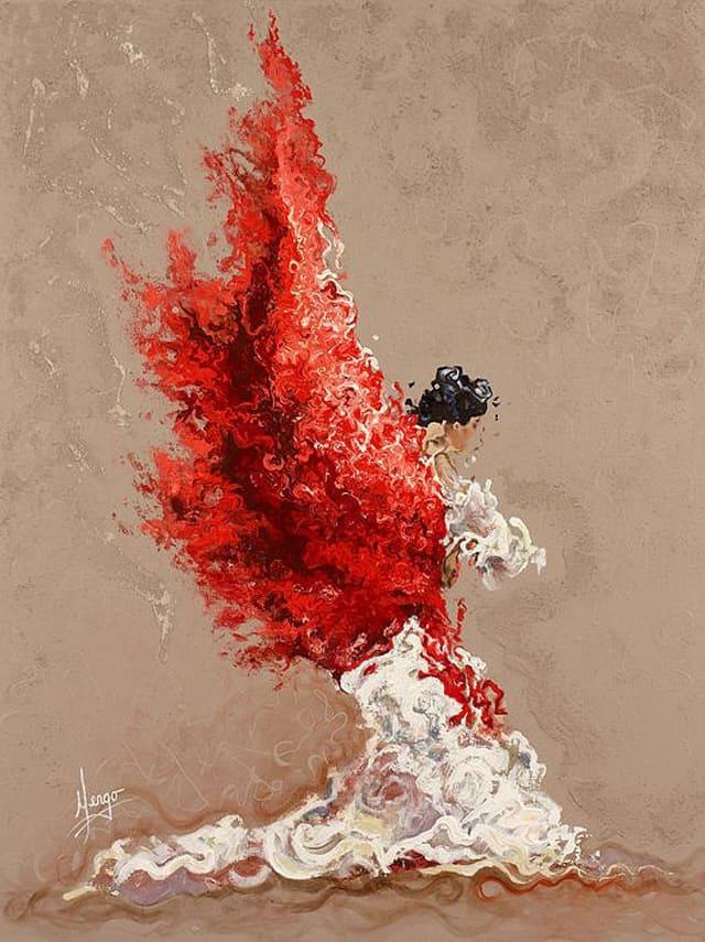 Karina Llergo Salto - American Expressionist painter - Tutt