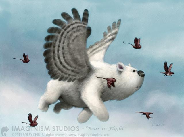 bear_in_flight_by_imaginism-d3brckq