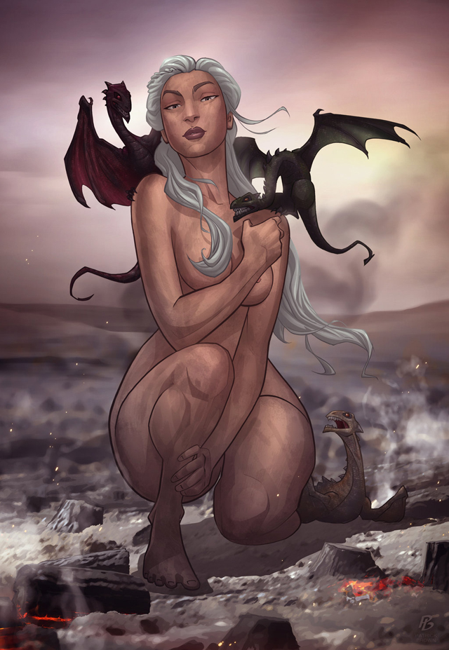 game_of_thrones__daenerys_targaryen_by_patrickbrown-d4pj92s