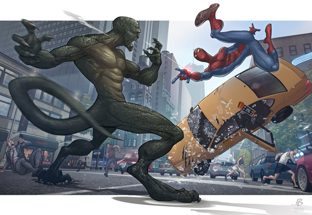 the_amazing_spider_man_by_patrickbrown-d4retyr